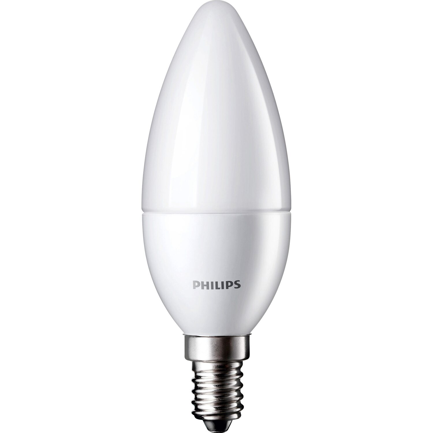 Philips LED-Lampe Kerzenform E14 / 5,5 W (470 lm) Warmweiß EEK: A+ ...