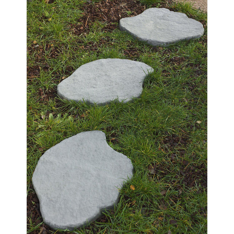 trittstein pietra incerta grau 56/44 cm x 4 cm kaufen bei obi