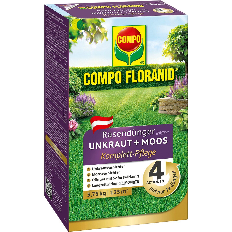 compo floranid rasend nger gegen unkraut und moos 4 in 1 3 75 kg kaufen bei obi. Black Bedroom Furniture Sets. Home Design Ideas