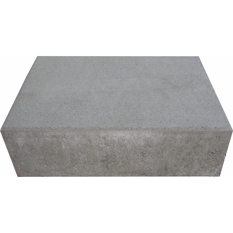 premac blockstufe grau 15 cm x 50 cm x 35 cm kaufen bei obi. Black Bedroom Furniture Sets. Home Design Ideas
