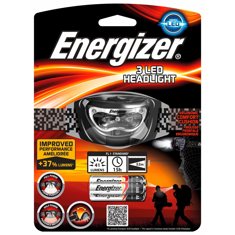 Energizer  3 LED Headlight inkl. Alkaline Batterien