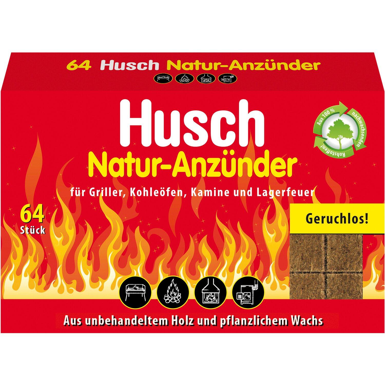 Husch  Natur Anzünder 64 Stück