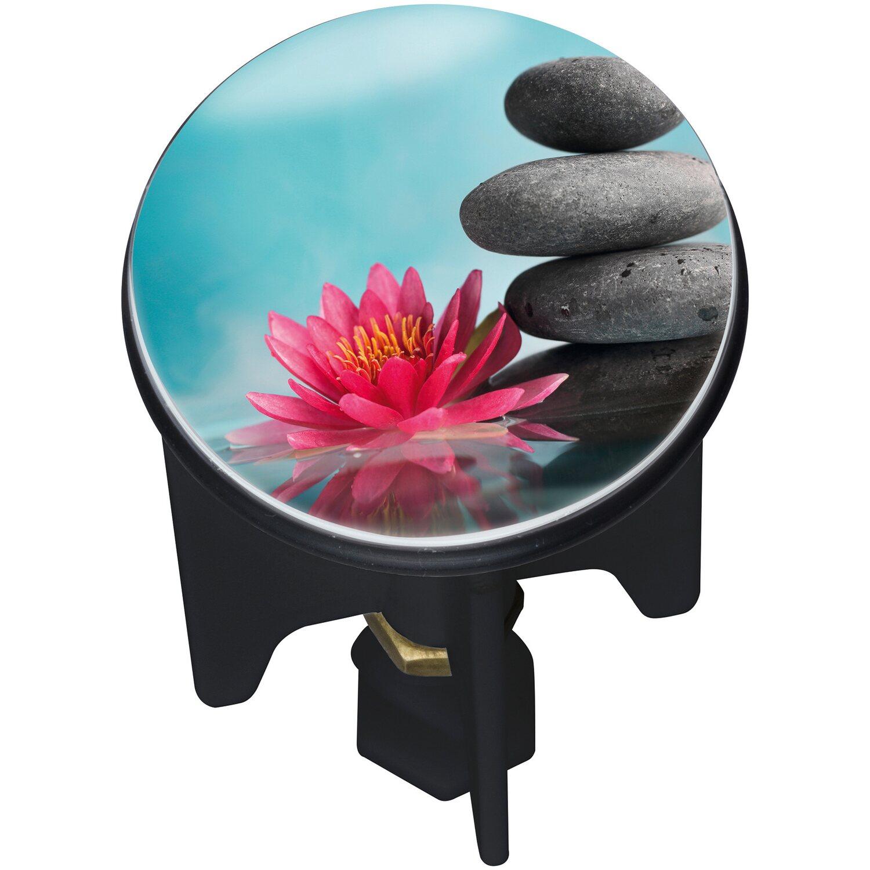 Wenko Abfluss-Stopfen Pluggy Lotus