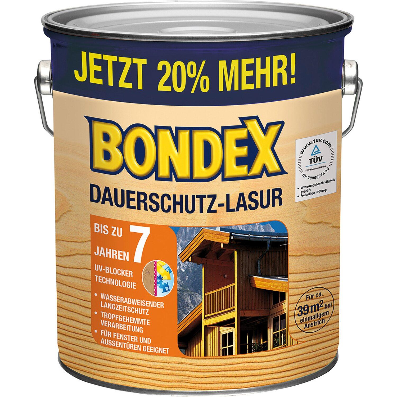 BONDEX Bondex Dauerschutz-Lasur Teak 3 l
