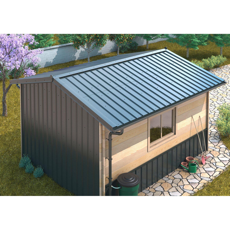 Sdf Dach Und Fassadenplatte 585 Mm X 1180 Mm Alu Anthrazit Kaufen Bei Obi