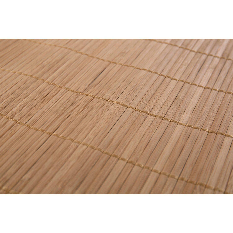 Bambus Teppich Natur Dunkel 65 Cm X 140 Cm Kaufen Bei Obi