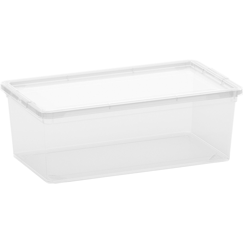 aufbewahrungsbox c xs mit deckel transparent kaufen bei obi. Black Bedroom Furniture Sets. Home Design Ideas