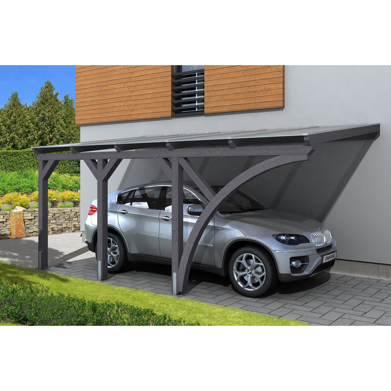 Skan Holz Carport Eifel 300 cm x 541 cm Schiefe...