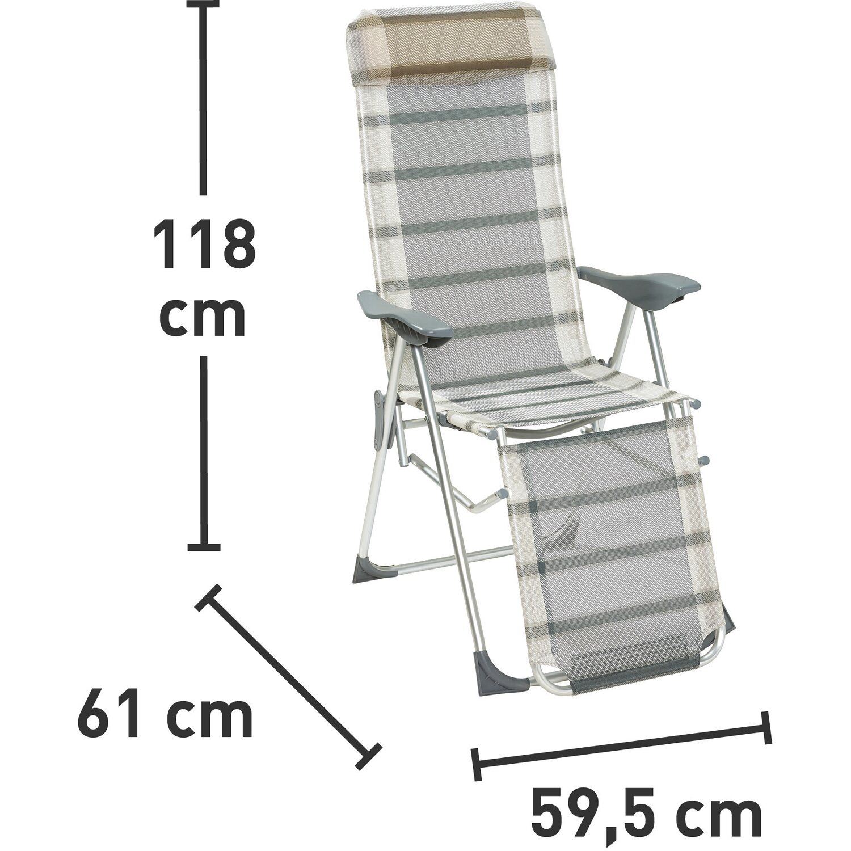 camping relaxsessel grau kaufen bei obi. Black Bedroom Furniture Sets. Home Design Ideas
