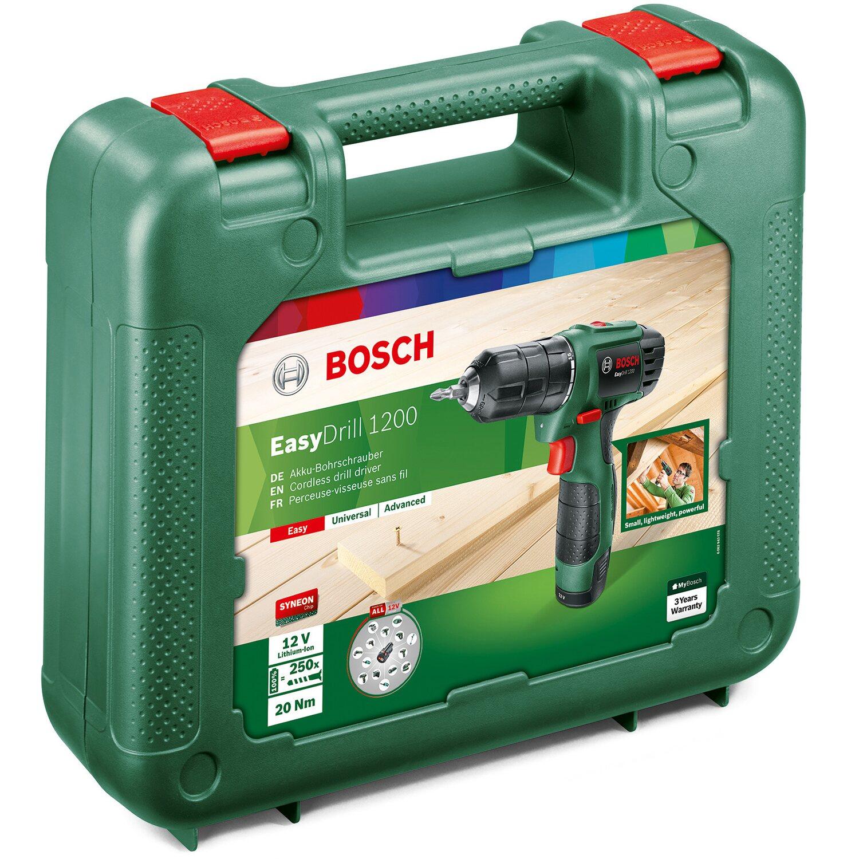 Bosch Akku Bohrschrauber 2 Gang EasyDrill 1200 Li Ion 12 V