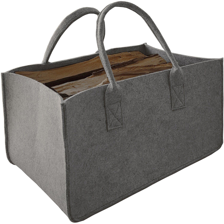 92aba6627b1f0 Filztasche zur Aufbewahrung faltbar in Grau kaufen bei OBI