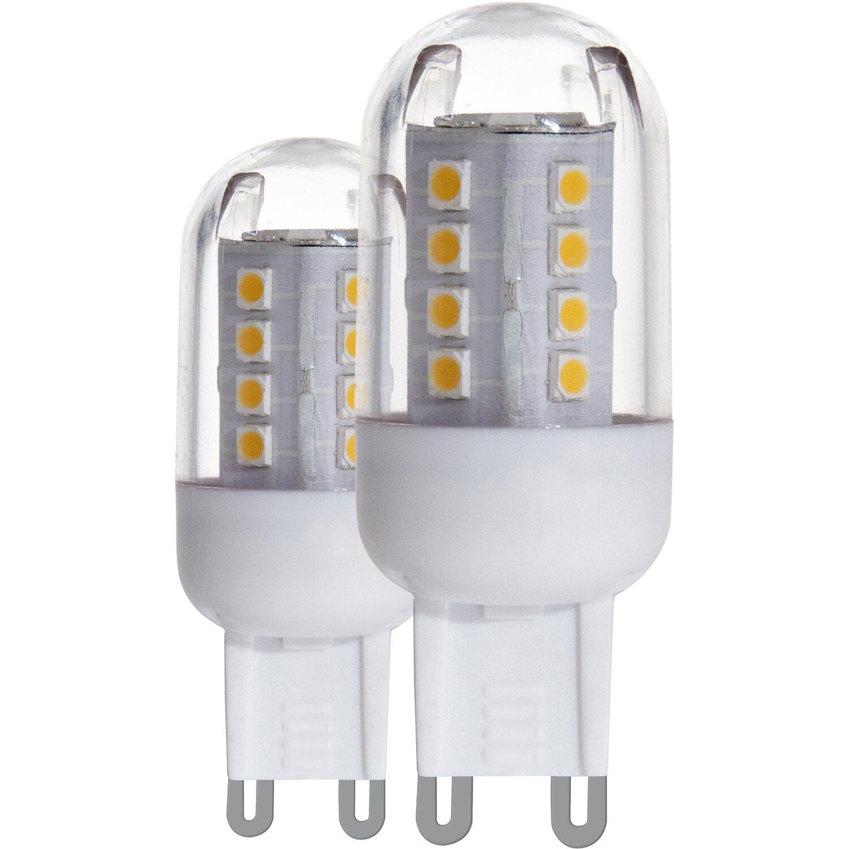 Eglo LED-Leuchtmittel G9 / 2,5 W (300 lm) Neutralweiß 2er-Pack EEK ...