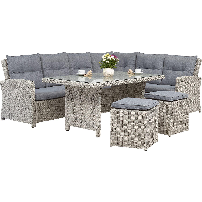 obi esstisch lounge gruppe vermont ecke rechts cloud fossil 5 tlg kaufen bei obi. Black Bedroom Furniture Sets. Home Design Ideas