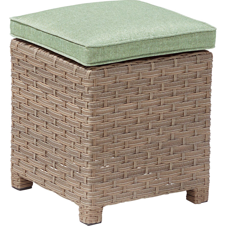 obi gartenm bel set brogan polyrattan gr n 5 teilig inkl auflagen kaufen bei obi. Black Bedroom Furniture Sets. Home Design Ideas