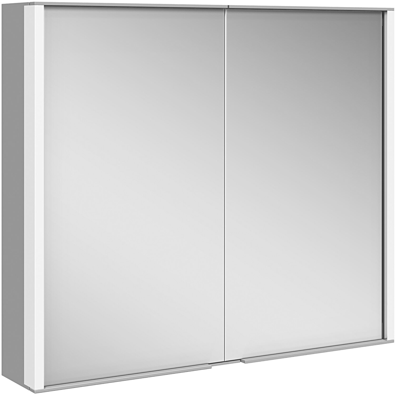 Keuco Spiegelschrank 80 Cm Royal Match Silber Eloxiert Eek A A Kaufen Bei Obi