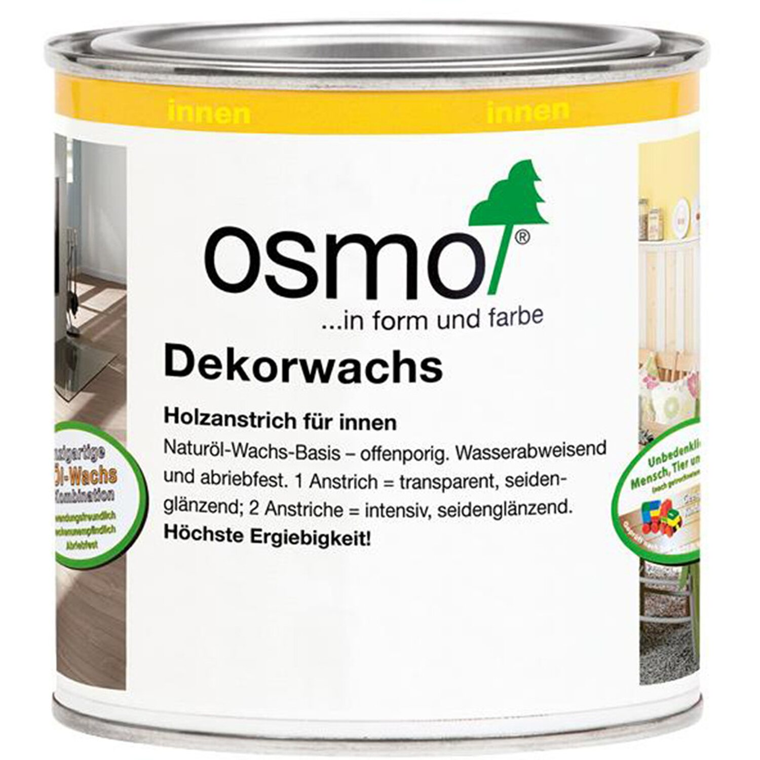 Osmo Dekorwachs Transparent Ebenholz 375 ml