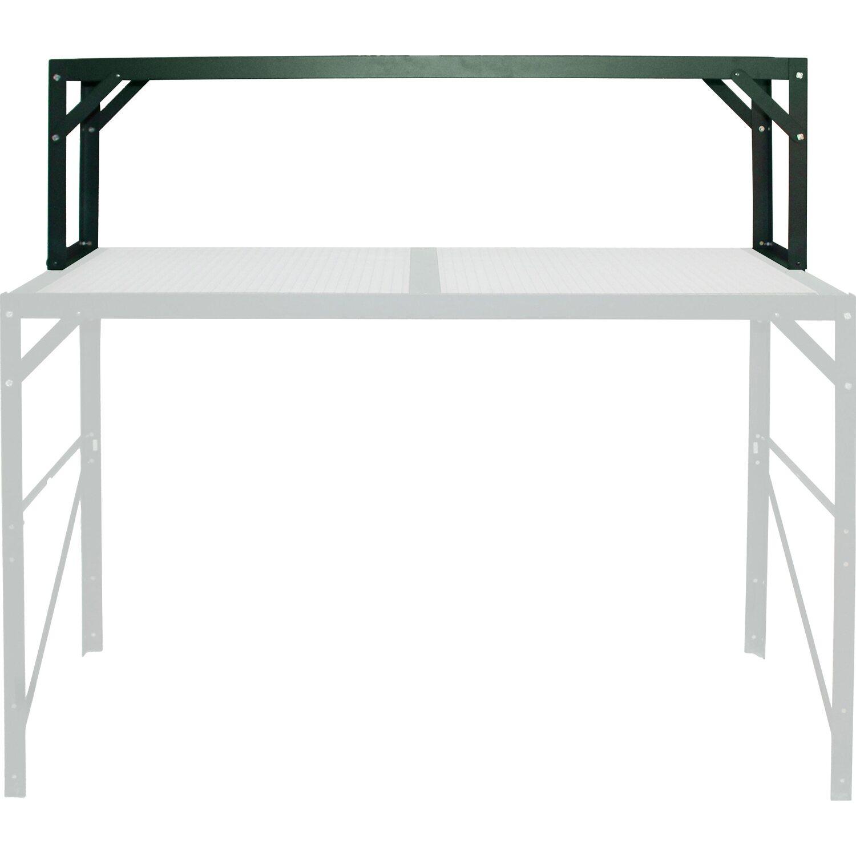 Aufsatz für Alutisch mit HKP-Ablagefläche 121 cm x 39 cm Smaragd ...