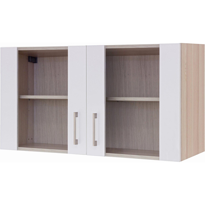 flex well exclusiv glas h ngeschrank abaco 100 cm perlmutt. Black Bedroom Furniture Sets. Home Design Ideas