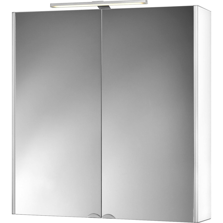 jokey spiegelschrank 65 5 cm dekor alu wei eek a kaufen bei obi. Black Bedroom Furniture Sets. Home Design Ideas