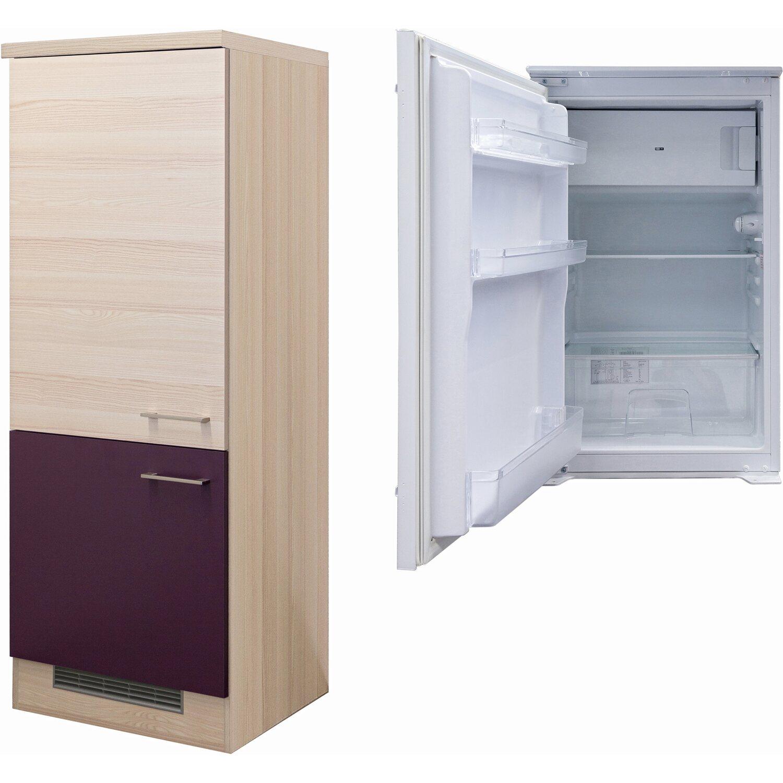 flex well exclusiv k hlschrank umbau focus mit k hlschrank pkm ks 120 4a eb kaufen bei obi. Black Bedroom Furniture Sets. Home Design Ideas