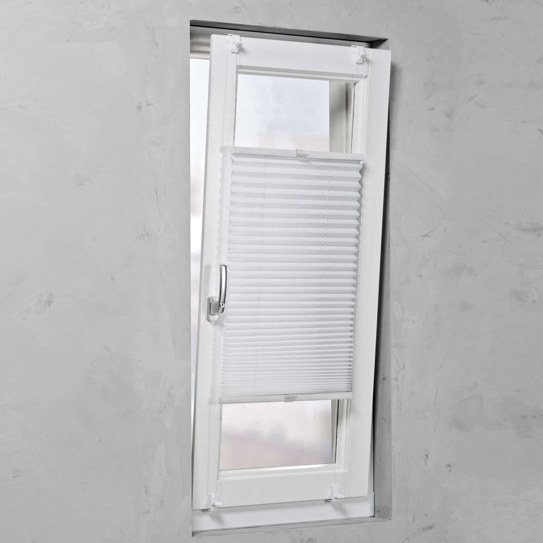 cocoon plissee verspannt 20 mm wei 45 cm x 130 cm kaufen bei obi. Black Bedroom Furniture Sets. Home Design Ideas