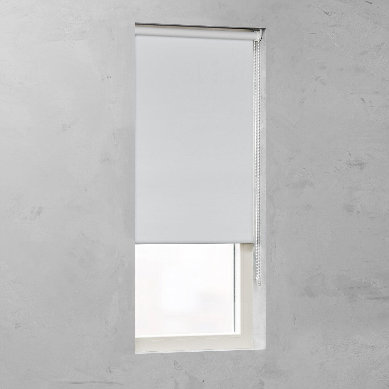 mäßiger Preis Promo-Codes kostenloser Versand Rollo Verdunklung 25 mm Weiß 115 cm x 275 cm