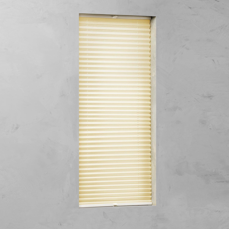 cocoon plissee verspannt 20 mm gelb 70 cm x 130 cm kaufen bei obi. Black Bedroom Furniture Sets. Home Design Ideas