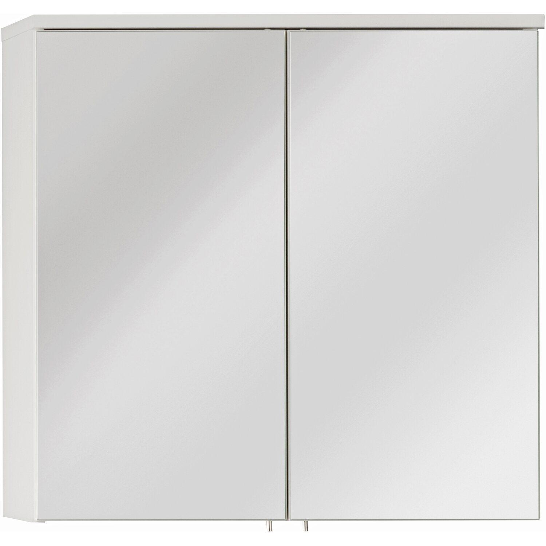 Fackelmann Spiegelschrank 60,5 Cm Detroit Weiß Kaufen Bei OBI