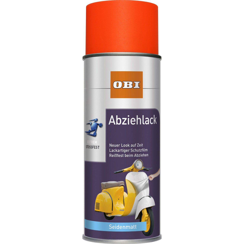 OBI  Abziehlack Neonorange seidenmatt 400 ml