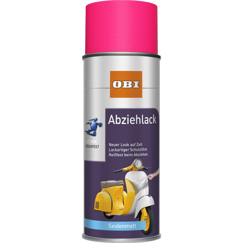 OBI  Abziehlack Neonpink seidenmatt 400 ml