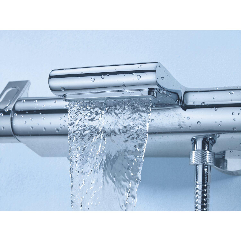 Beliebt Grohe Thermostat-Wannenarmatur Grohtherm 2000 mit XL-Wasserfall LN89