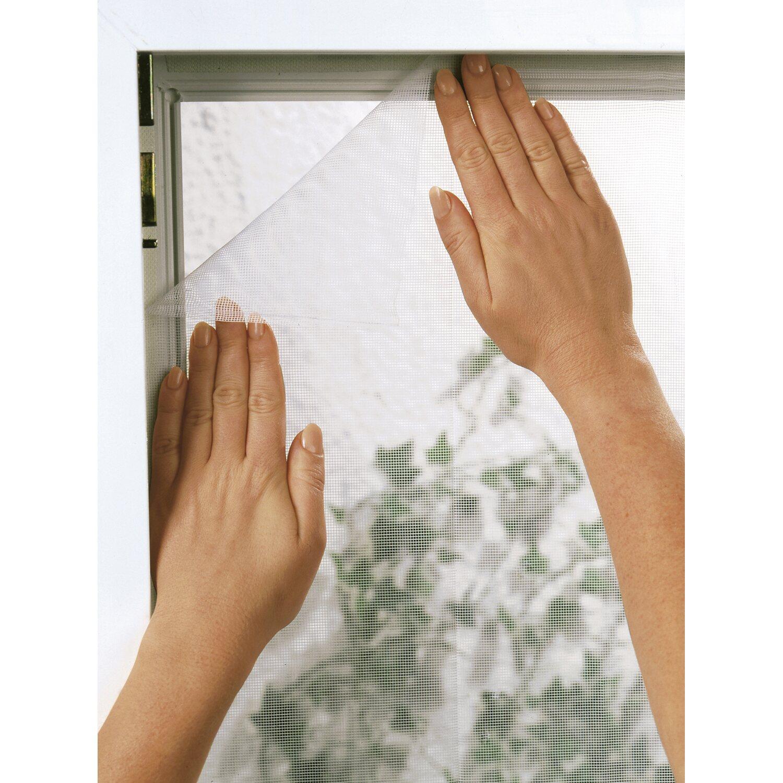 fliegengitter fenster 130 cm x 150 cm weiß kaufen bei obi