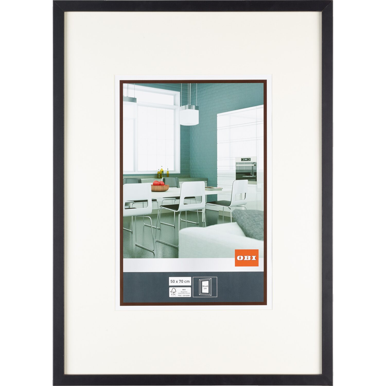 obi mdf bilderrahmen schwarz 50 cm x 70 cm kaufen bei obi. Black Bedroom Furniture Sets. Home Design Ideas