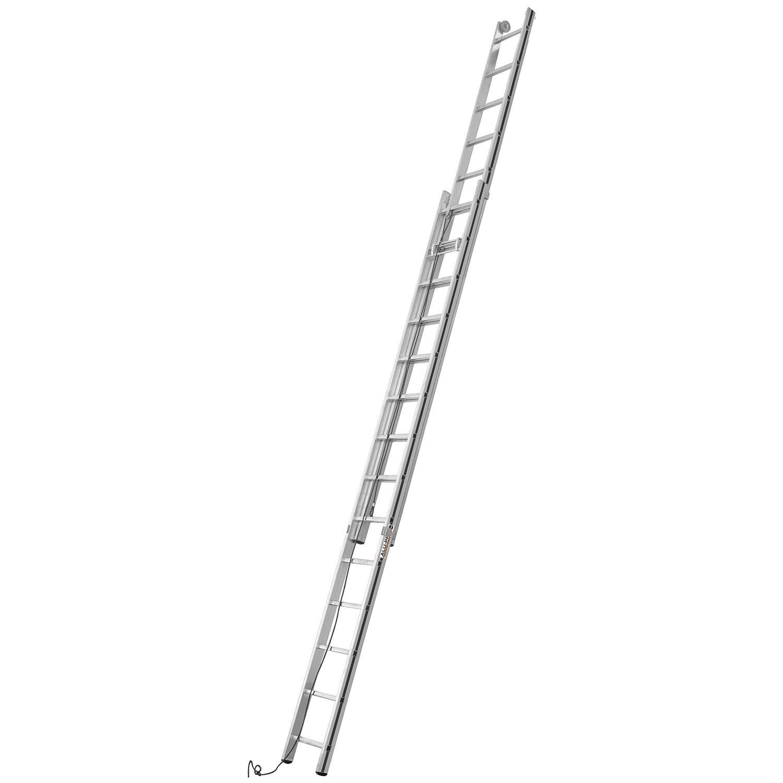 Hymer  Seilzug-Leiter 2 x 14 Sprossen Arbeitshöhe 7,34 m