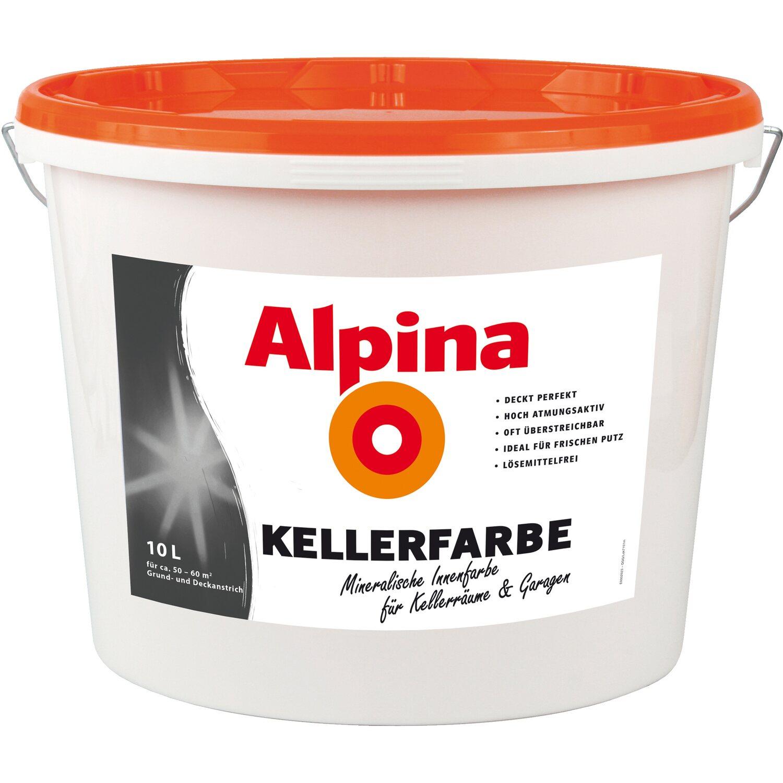 Gut gemocht Alpina Kellerfarbe Weiß matt 10 l kaufen bei OBI MX98