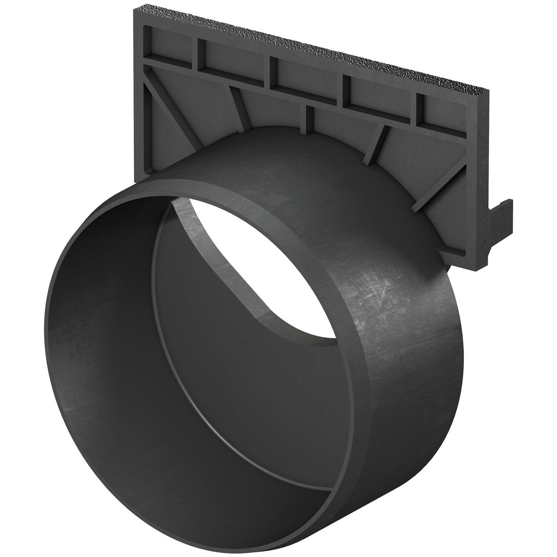 ACO Stirnwand mit Stutzen passend zur Standardline DN 100