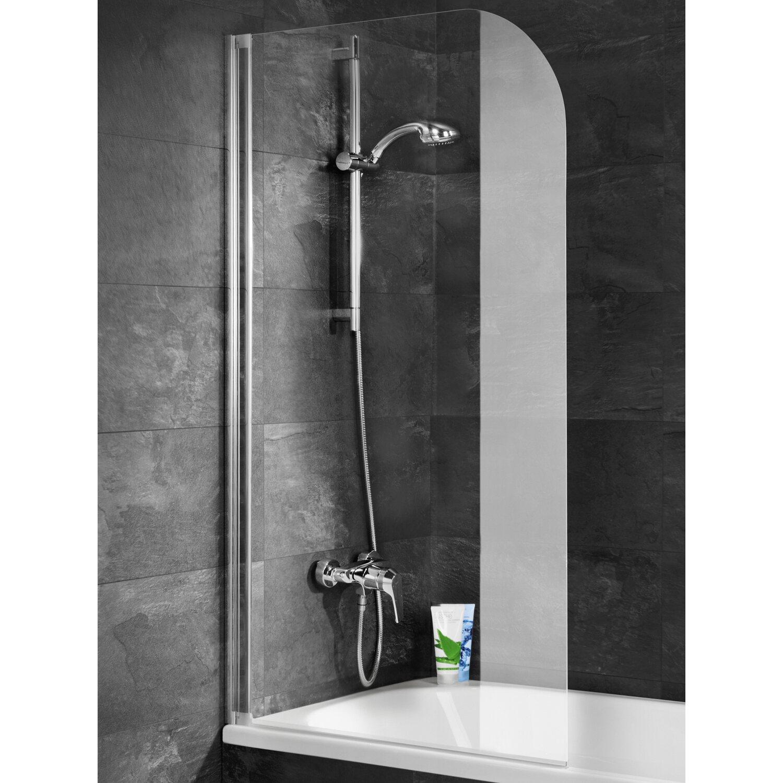 schulte badewannenaufsatz alunatur echtglas klar hell 80 x 140 cm kaufen bei obi. Black Bedroom Furniture Sets. Home Design Ideas