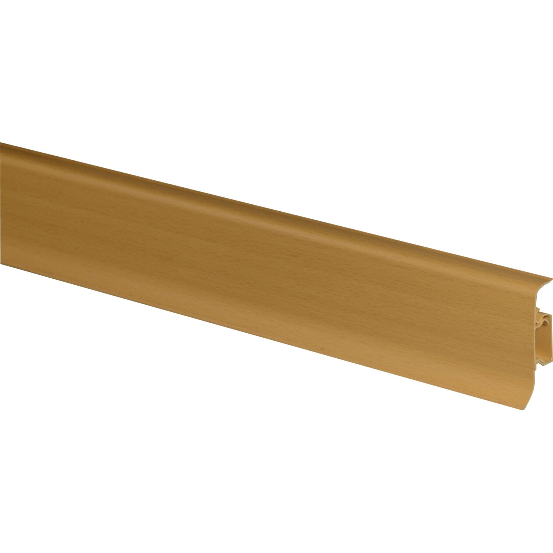 sockelleiste ku050 buche 50 mm x 22 5 mm x 2500 mm kaufen bei obi. Black Bedroom Furniture Sets. Home Design Ideas