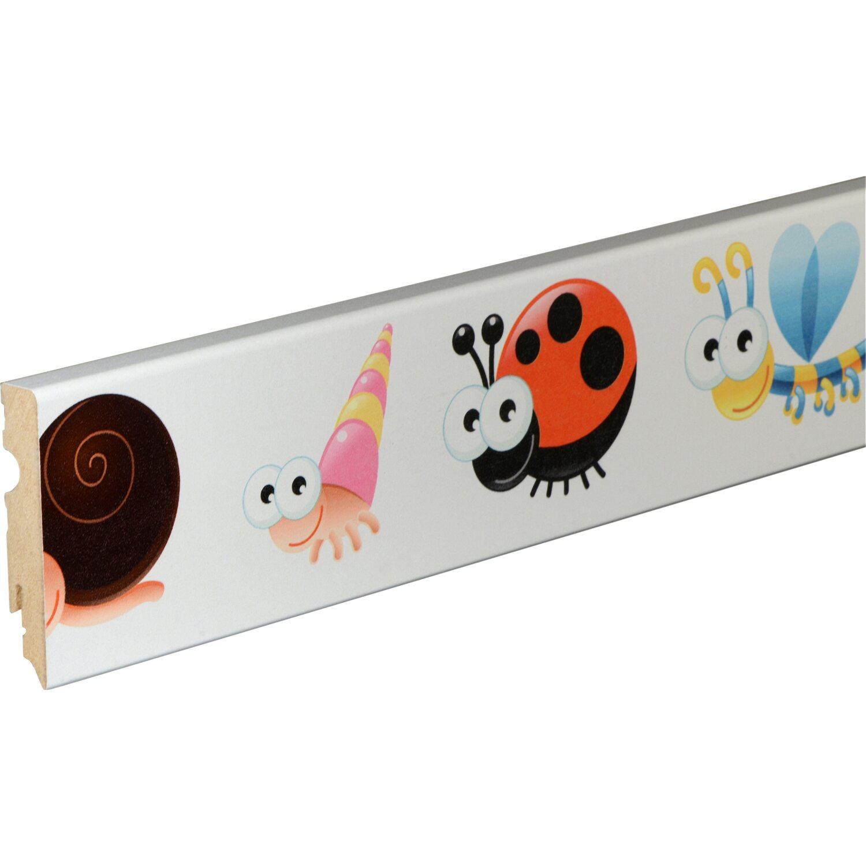 Sockelleiste fu084l tiere 15 mm x 80 mm x 2400 mm kaufen for Obi dekorfolie
