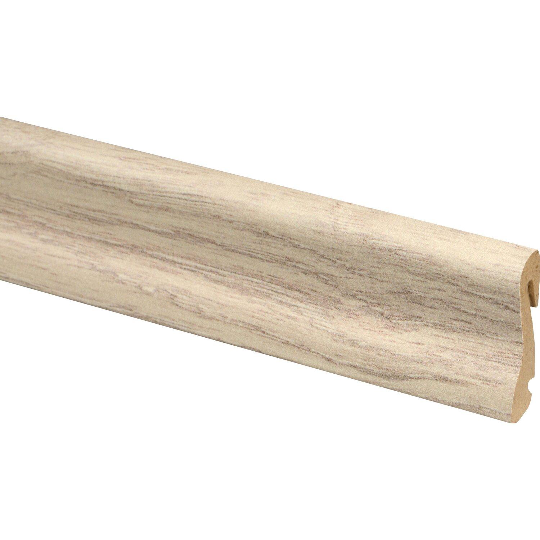 Sockelleiste fu018h eiche calais 38 5 mm x 18 5 mm x 2400 for Obi dekorfolie