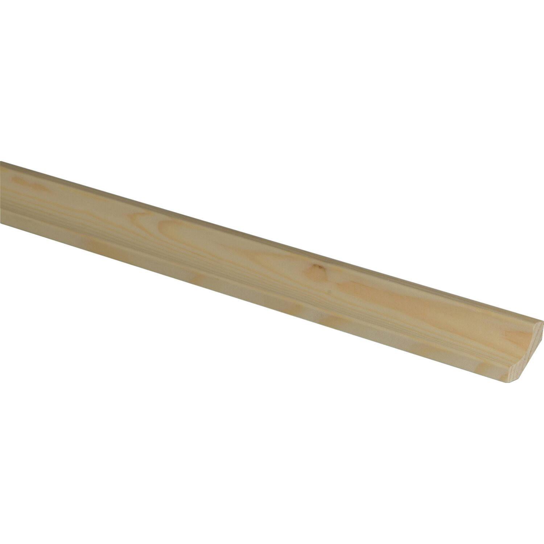 hohlkehlleiste fichte kiefer 20 mm x 20 mm x 2400 mm kaufen bei obi. Black Bedroom Furniture Sets. Home Design Ideas
