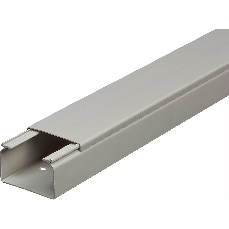 Kabelkanal 60 mm x 40 mm Grau Länge 2 m kaufen bei OBI