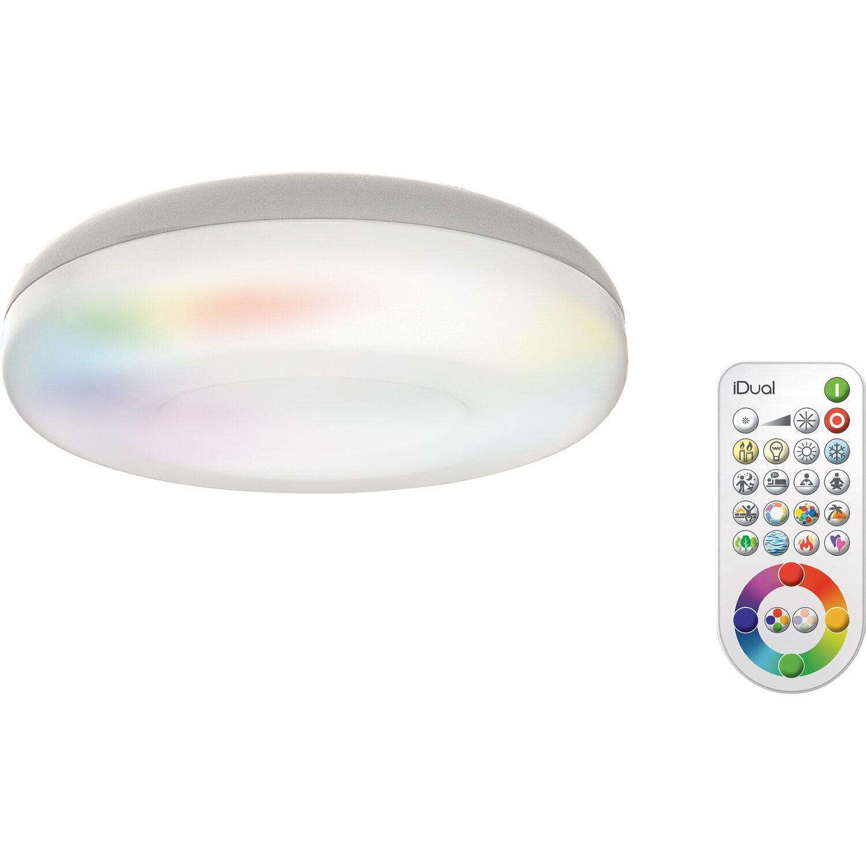 iDual LED-Deckenleuchte Daphnis EEK: A-A++ kaufen bei OBI