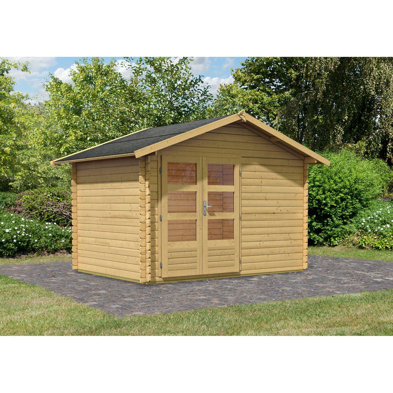Karibu Holz Gartenhaus ...