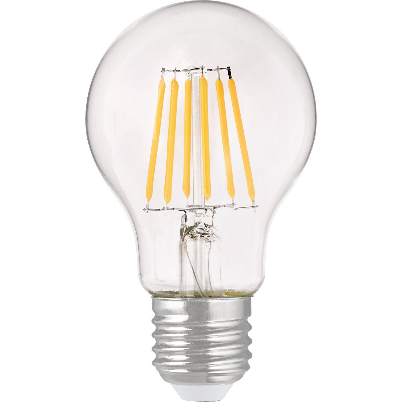 OBI LED-Filament-Leuchtmittel EEK: A++ Glühlampenform E27 / 6 W (806 lm) Warmwei