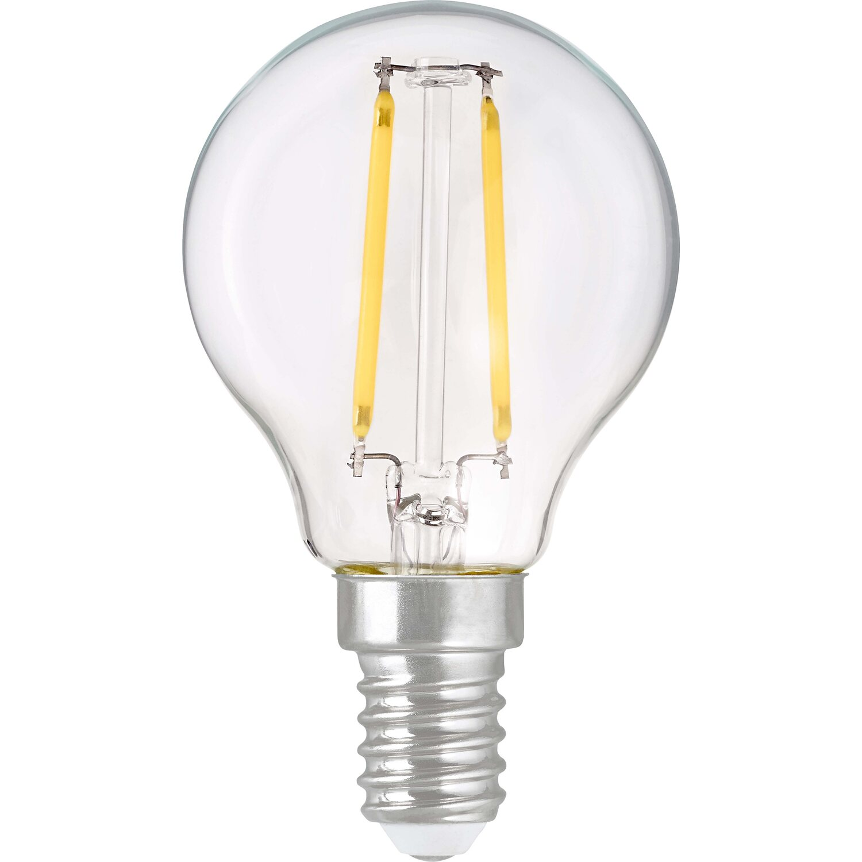 obi led filament leuchtmittel tropfenform e14 2 3 w 250. Black Bedroom Furniture Sets. Home Design Ideas