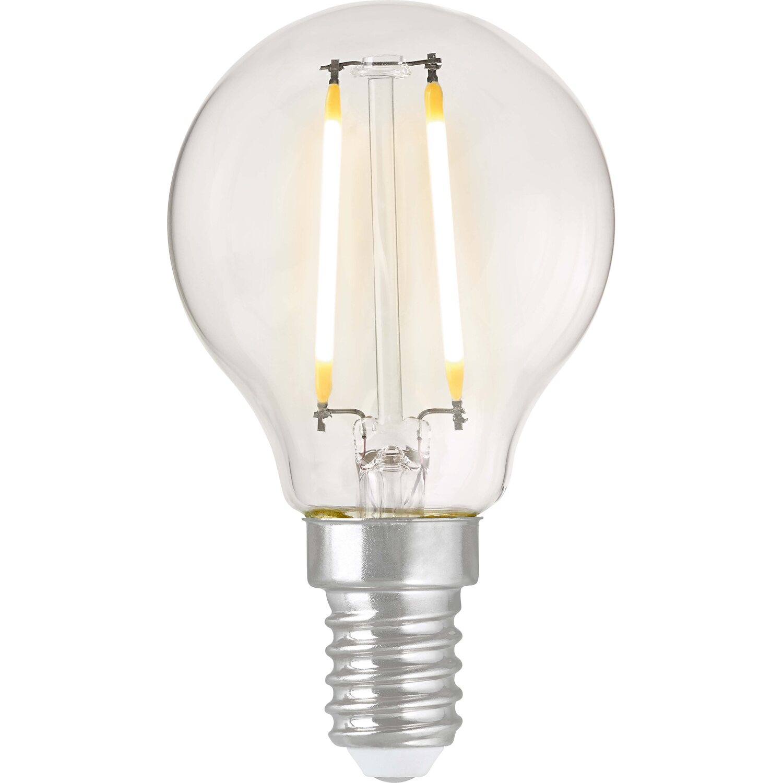 obi led filament leuchtmittel tropfenform e14 2 3 w 250 lm warmwei eek a kaufen bei obi. Black Bedroom Furniture Sets. Home Design Ideas