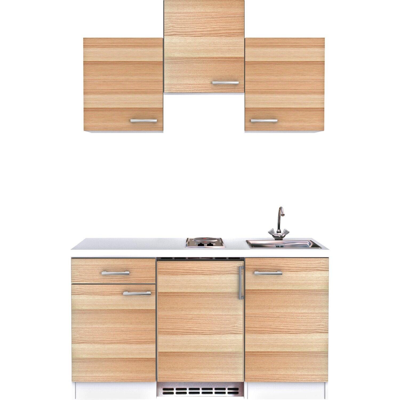 flex well exclusiv k chenzeile akazia 150 cm akazie. Black Bedroom Furniture Sets. Home Design Ideas