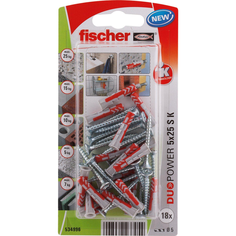 Fischer Duopower 5X25 S K NV