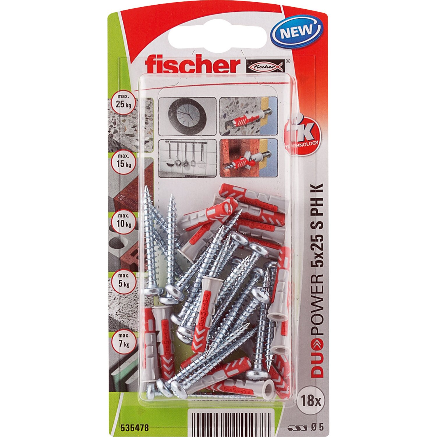 Fischer Duopower 5X25 S PH K NV